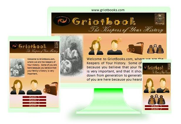GriotBooks Ancestory Archiving System